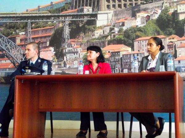 Uma das apresentações dos resultados de um DLS desenvolvido pelo Observatório Permanente Violência e Crime, da Universidade Fernando Pessoa