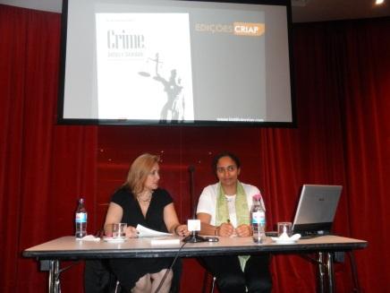 Apresentação do livro CRIME, JUSTIÇA E SOCIEDADE - DESAFIOS EMERGENTES E PROPOSTAS MULTIDISCIPLINARES, no Funchal