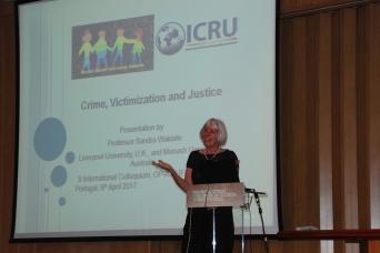 Sandra Walklate (Teresa Reis, Laboratório de Fotografia da UFP)